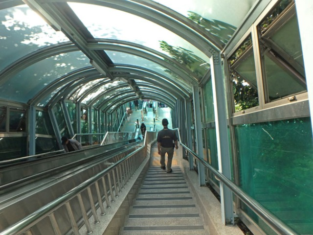 stairway in Busan
