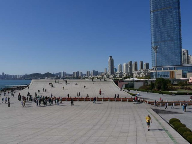 Xinghai Square in Dalian, China