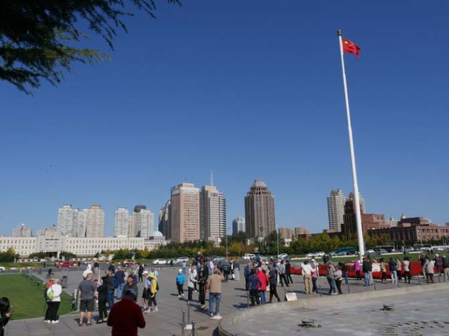 People's Square in Dalian, China