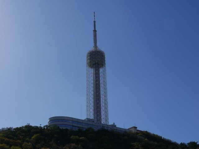 TV tower in Dalian, China