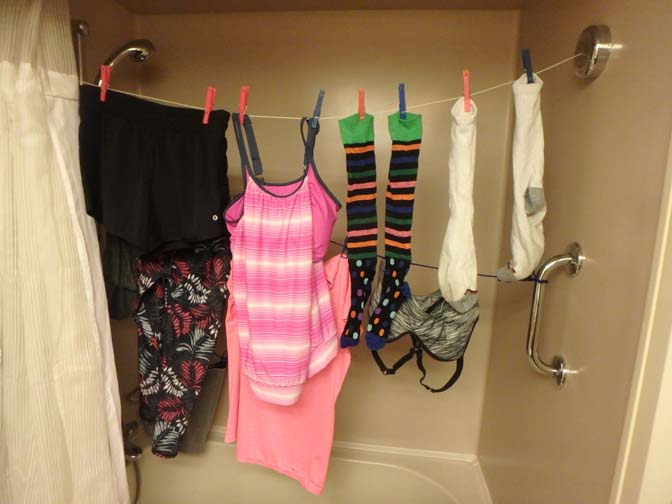 doing laundry on a cruise ship