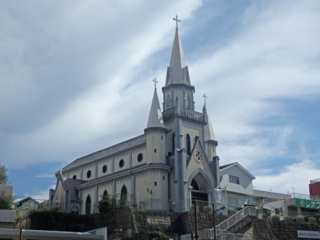 catholic church in Sasebo, Japan