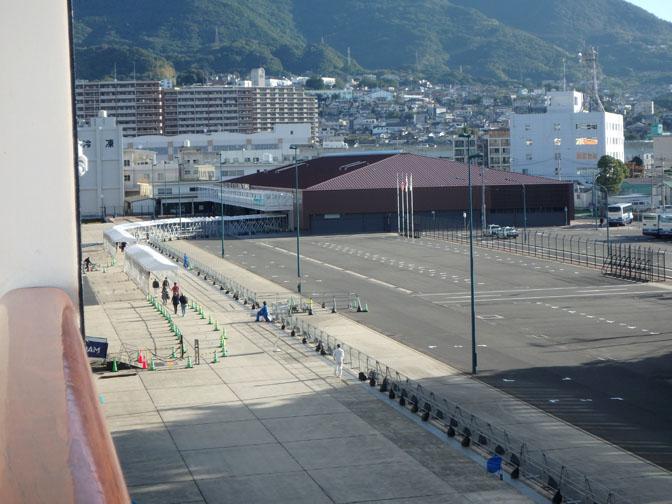 cruise port in Sasebo, Japan
