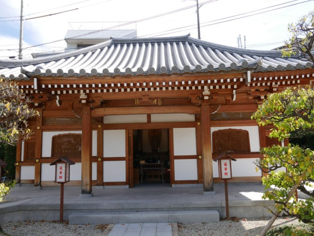 Bhuddist temple in Sasebo, Japan