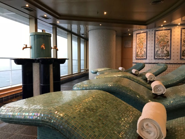 cruise ship spa chairs