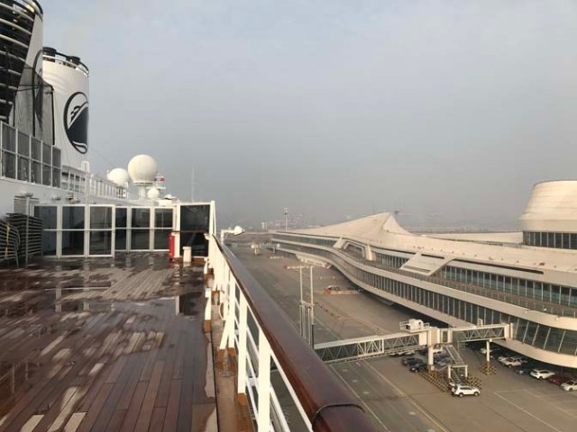 Tianjin cruise port